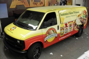 Van Wrap Guerero Graphics