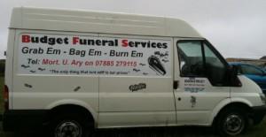 funeral services van wraps