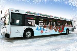 Santa bus wraps
