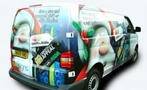 Christmas van wraps