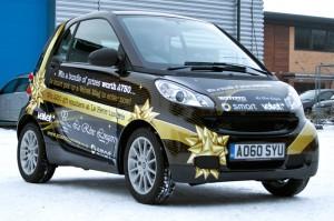 Christmas car wraps