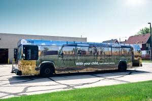 HIP program bus wrap