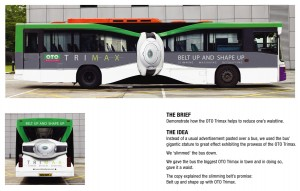 Oto Trimax bus wraps