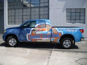 Arete Digital Imaging Truck wraps