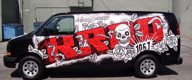 Van Wraps - KROQ