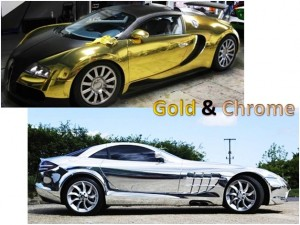 Gold & Chrome