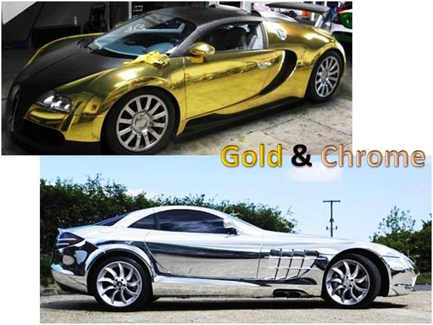 Gold Amp Chrome