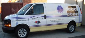 Spoonful of Fruit Van Wrap
