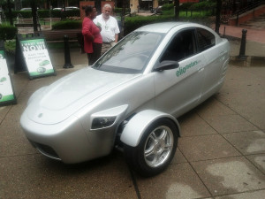 Elio Motors 3 Wheel Car