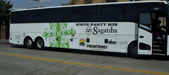 Bus Wrap Party Bus