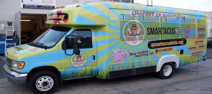 Bus Wraps & Bus Graphics Los Angeles