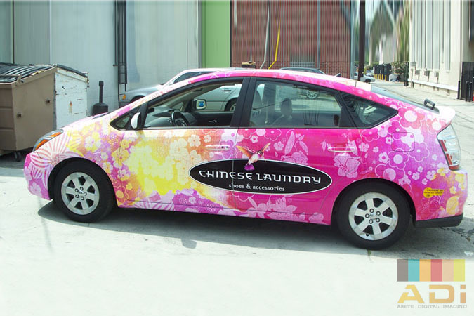 Chinese Laundry Services Car Wrap