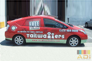 Tailwaggers Animal Care Car Wrap