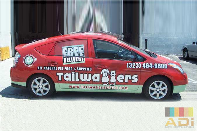Tailwaggers Animal Care Car Wrap
