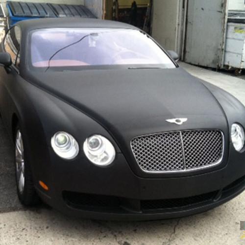 Black Matte on a Bentley