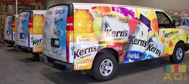 Kern Family Fleet Wrap Bus