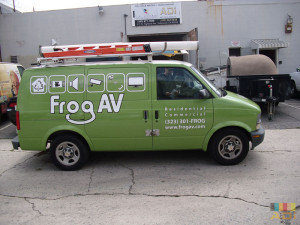 Frog Av Tech Van Wrap