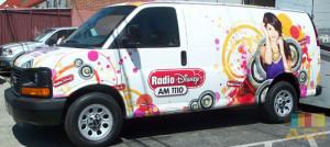 Disney Radio 1110 Van Wrap