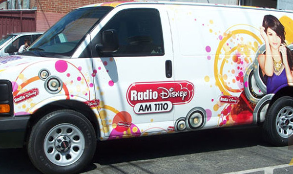 Disney Radio 1110 Van Wrap