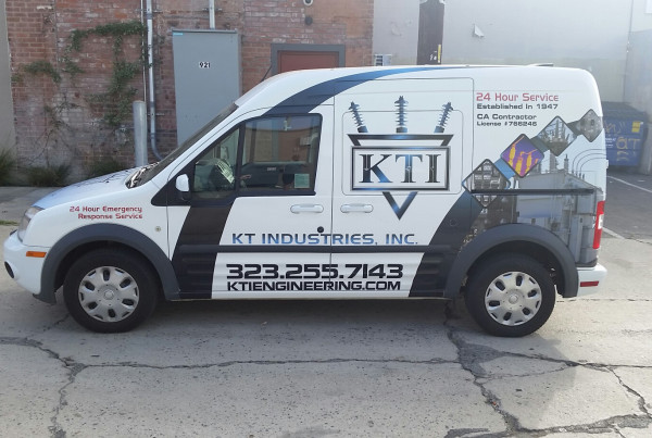 Vehicle Advertisement Van Wrap