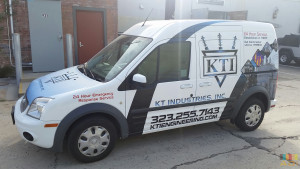 Vehicle Advertisement Van Wrap