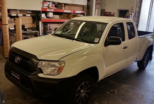Toyota Scion Truck Wrap