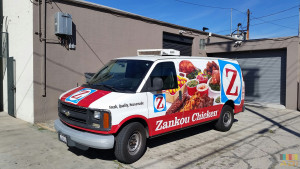 Zankou Chicken Delivery Van Wrap