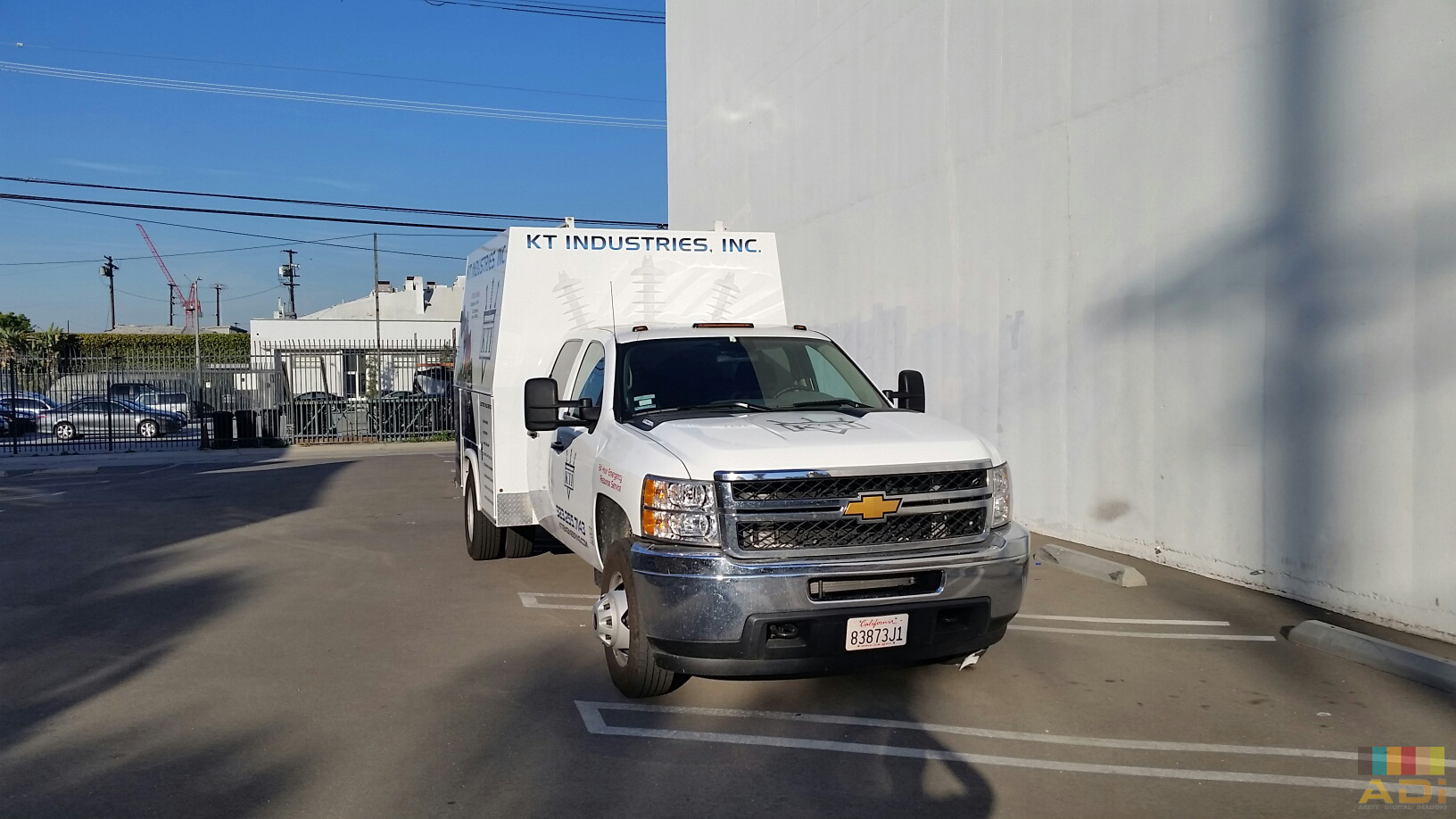 KT Insudstries Truck Wrap