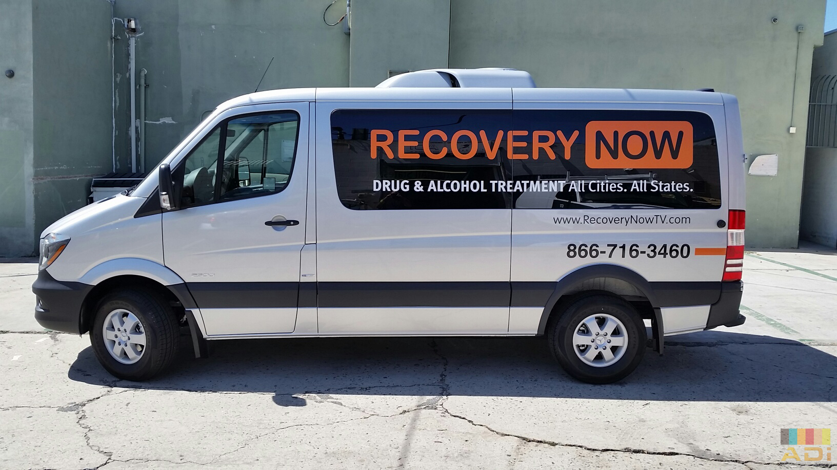 Vehicle Van Wrap Advertisement