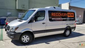 Vehicle Van Wrap Advertisement