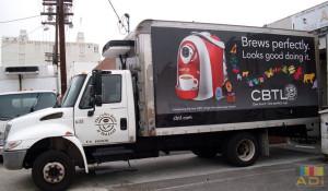 Box Truck Wrap Mobile Advertisement