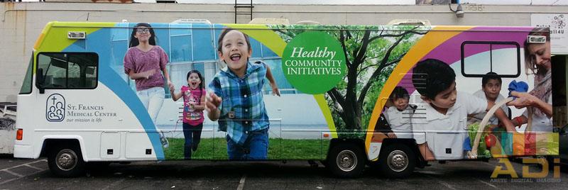 Community Initiatives Bus Wrap