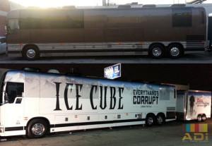 Music Entertainer Bus Wrap