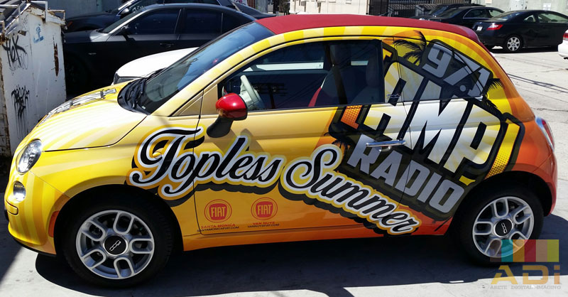 97.1 Amp Radio Summer Car Wrap
