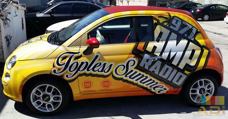 97.1 Amp Radio Summer Car Wrap