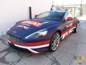 Great Britain Custom Car Wrap