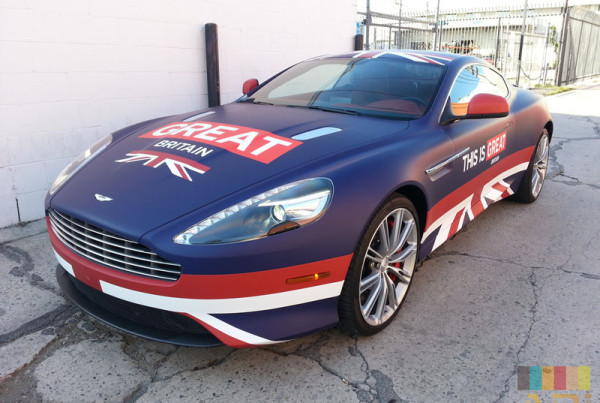 Great Britain Custom Car Wrap