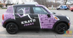 Krave Jerky Mobile Advertisement Car Wrap