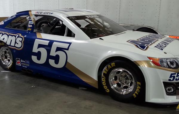 Nascar Racing Car Wrap