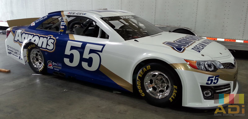 Nascar Racing Car Wrap