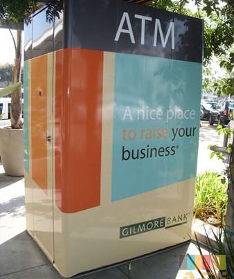 Gilmore City Bank ATM Specialty Wrap