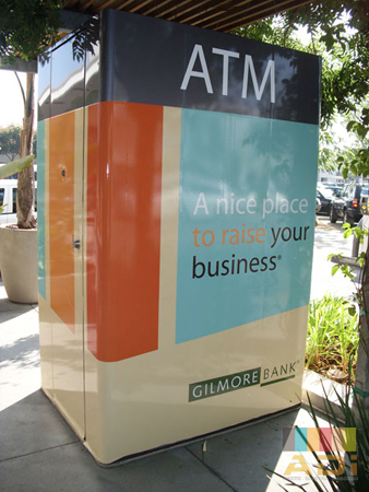 Gilmore City Bank ATM Specialty Wrap