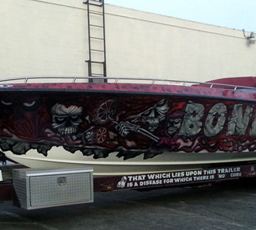 Speedboat specialty wrap Bonecrusher