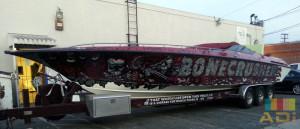 Speed Boat Bone Crusher Custom Wrap