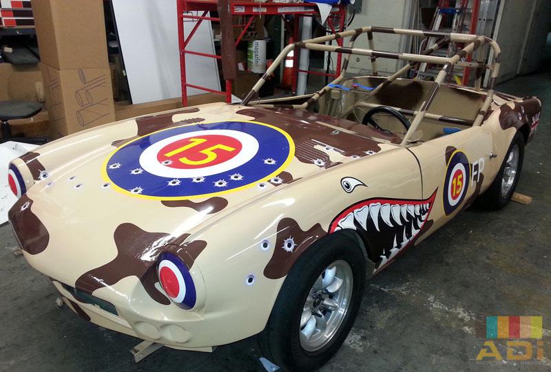 Custom Derby Car Custom Car Wrap