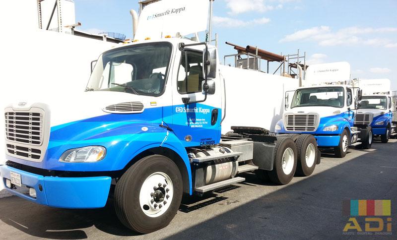 Smurfit Tractor Fleet Wrap