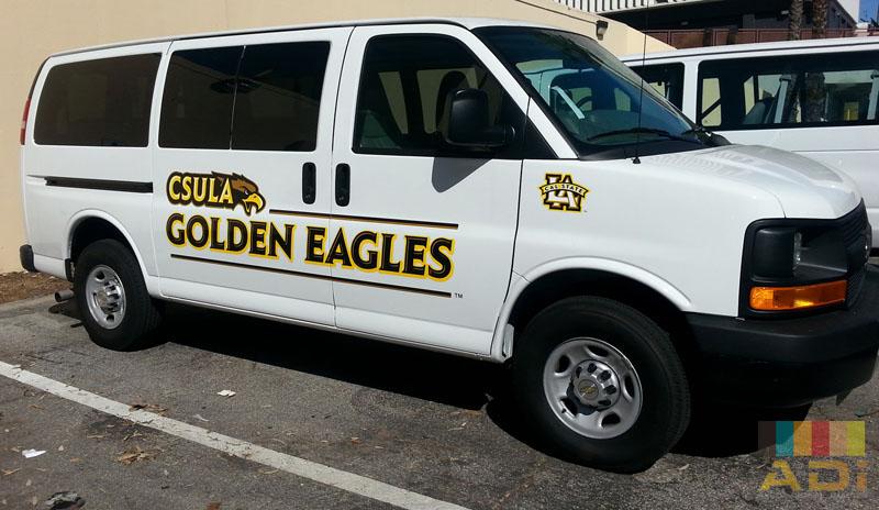 Partial Wrap Golden Eagles