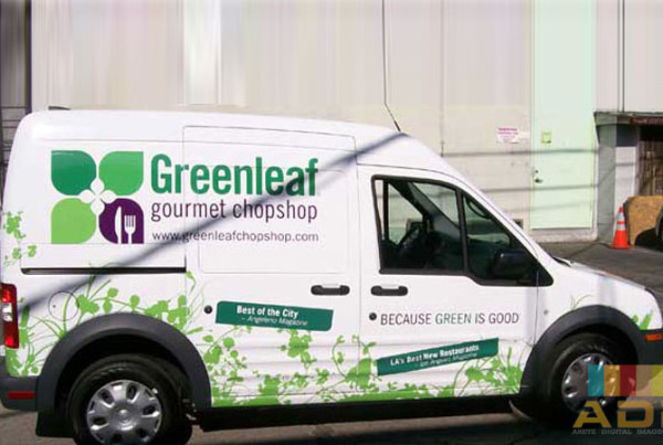 Green Leaf Gourmet Chopshop Partial Wrap