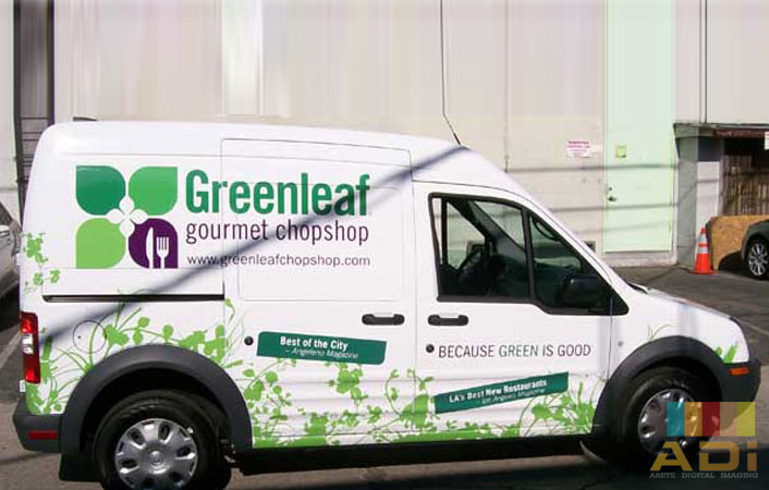 Green Leaf Gourmet Chopshop Partial Wrap