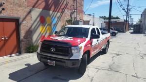 Toyota Scion Truck Wrap, Truck Wrap, Vehicle Advertisement, Vehicle Truck Wrap, Truck Wrap Advertisement